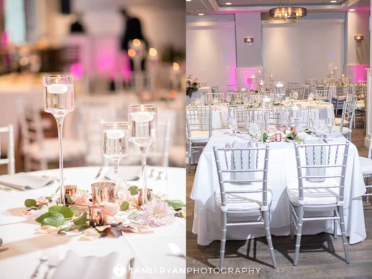 breakwaters at the dunes wedding reception details