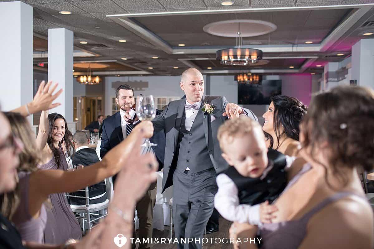 breakwaters at dunes wedding reception