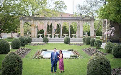 Romantic Monmouth University Engagement Photography | Genevieve & Brian