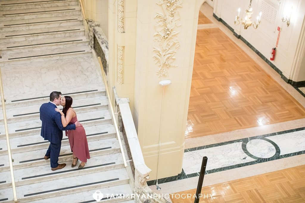 monmouth university engagement photos