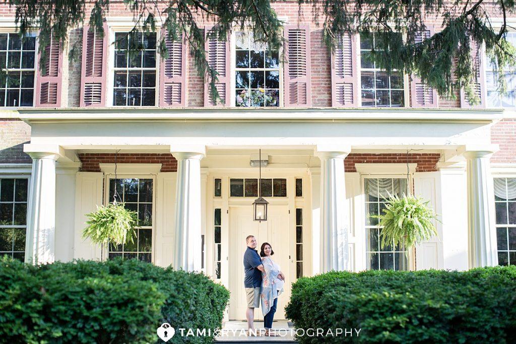smithville mansion maternity photography