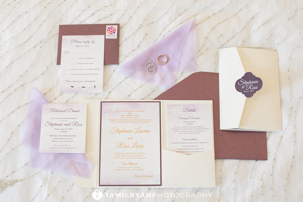 wedding details invitations