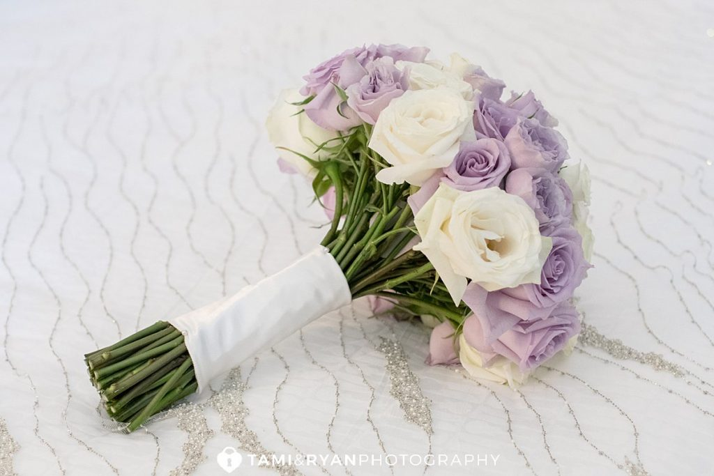 wedding details bouquet