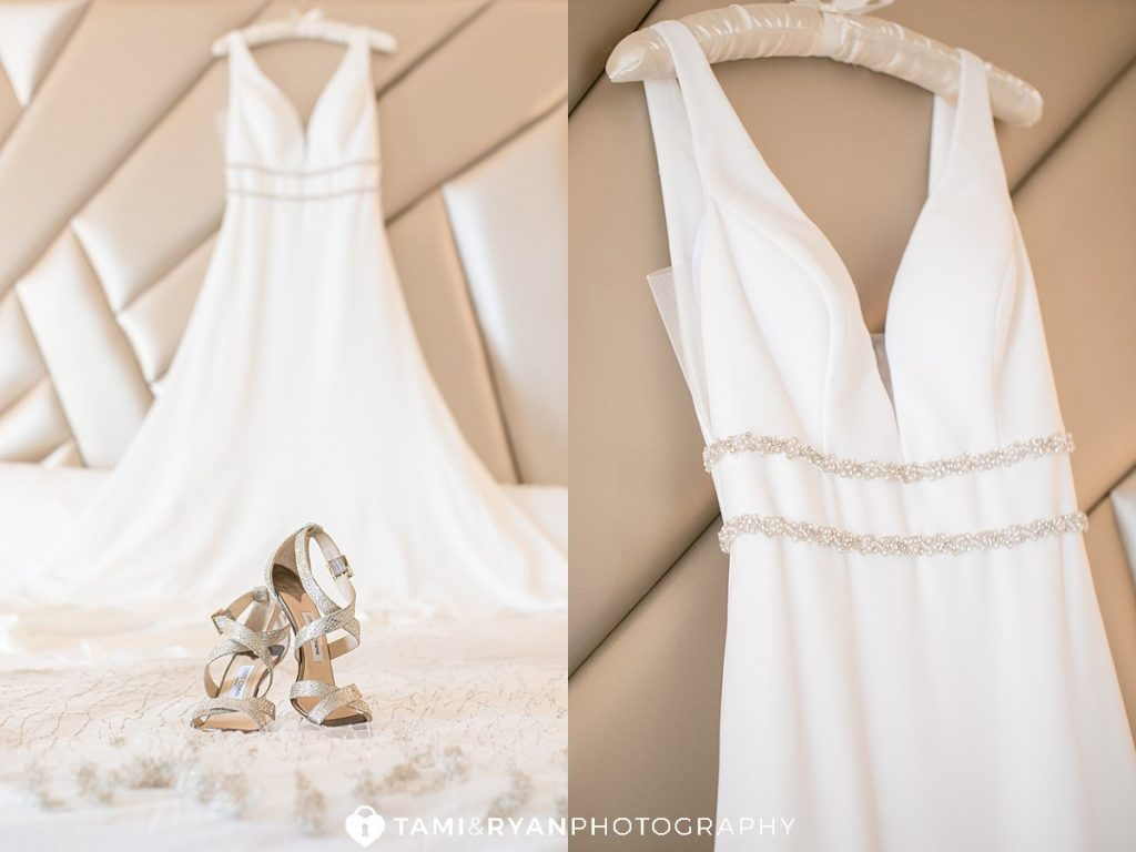 wedding details dress gown