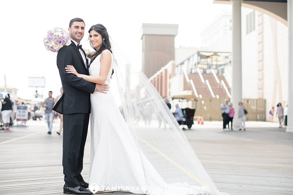 bride groom portraits atlantic city hard rock hotel