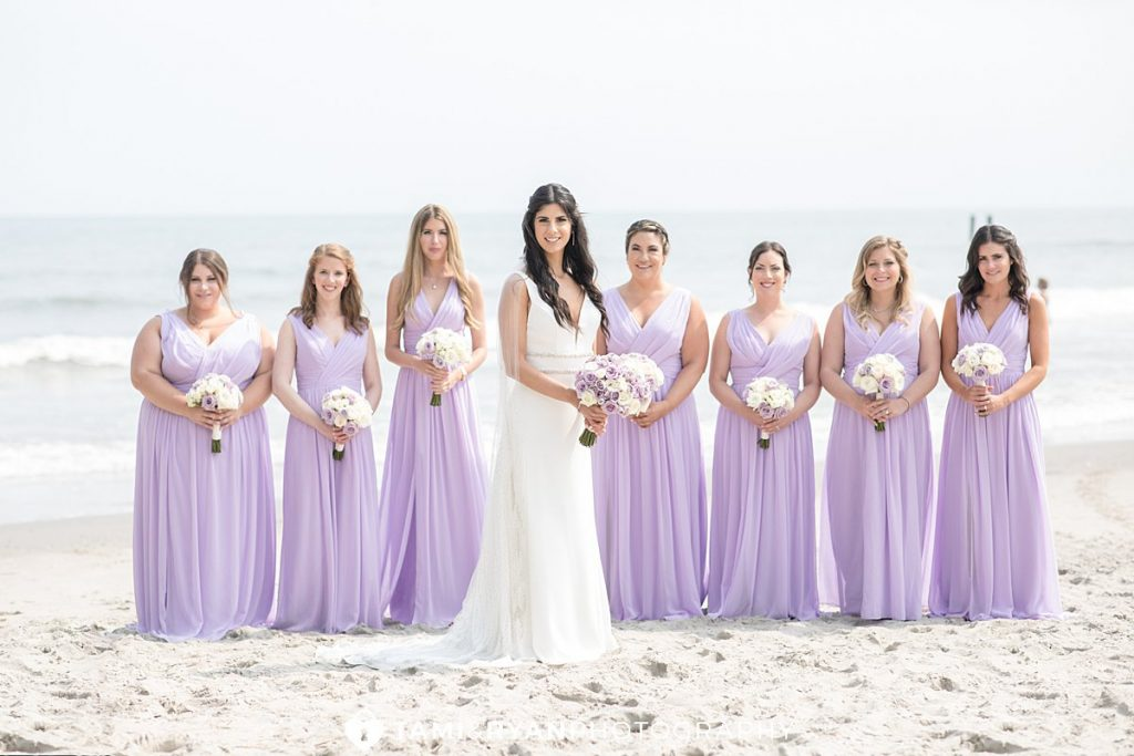 bridal party portraits atlantic city hard rock hotel