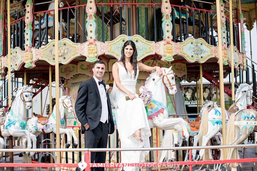 steel pier bride groom wedding photography
