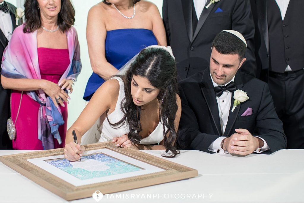 one atlantic ketubah signing