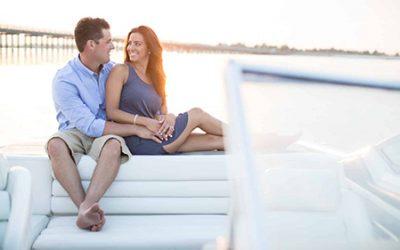 Romantic Corsons Inlet Engagement Photography | Alyssa & Alex