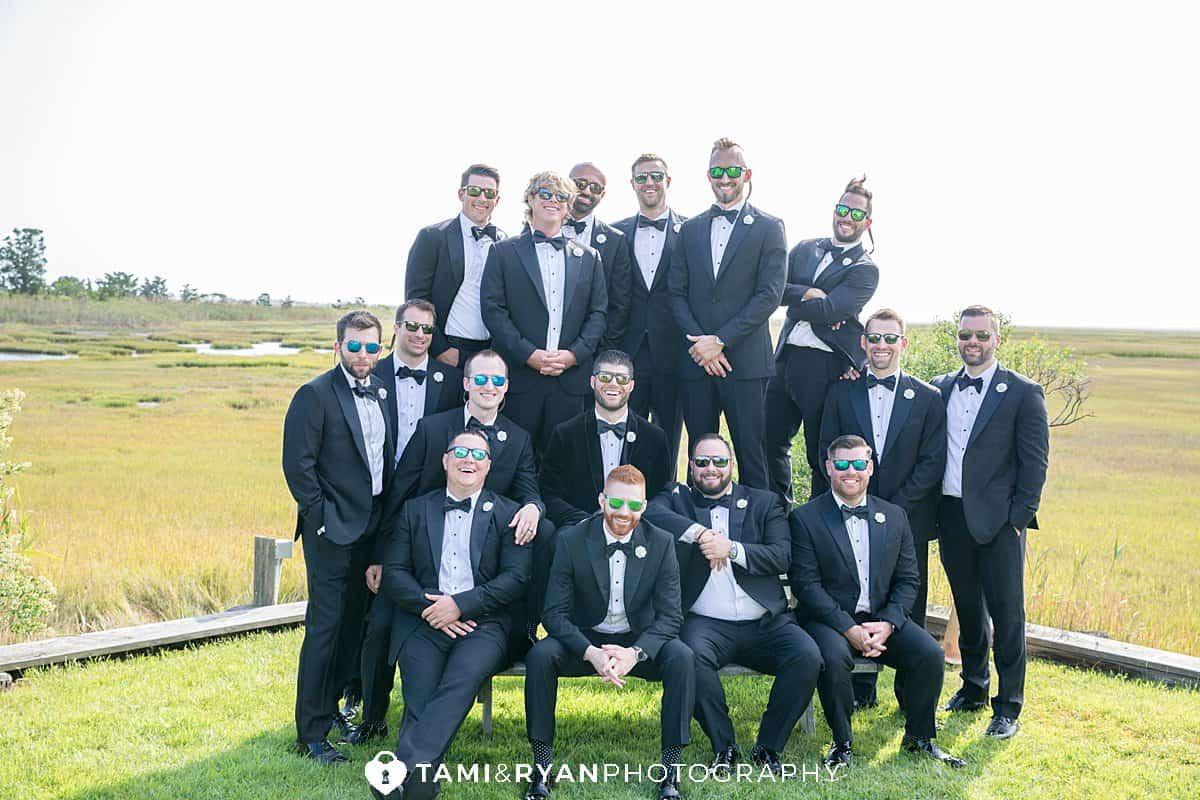 bridal party wetlands institute