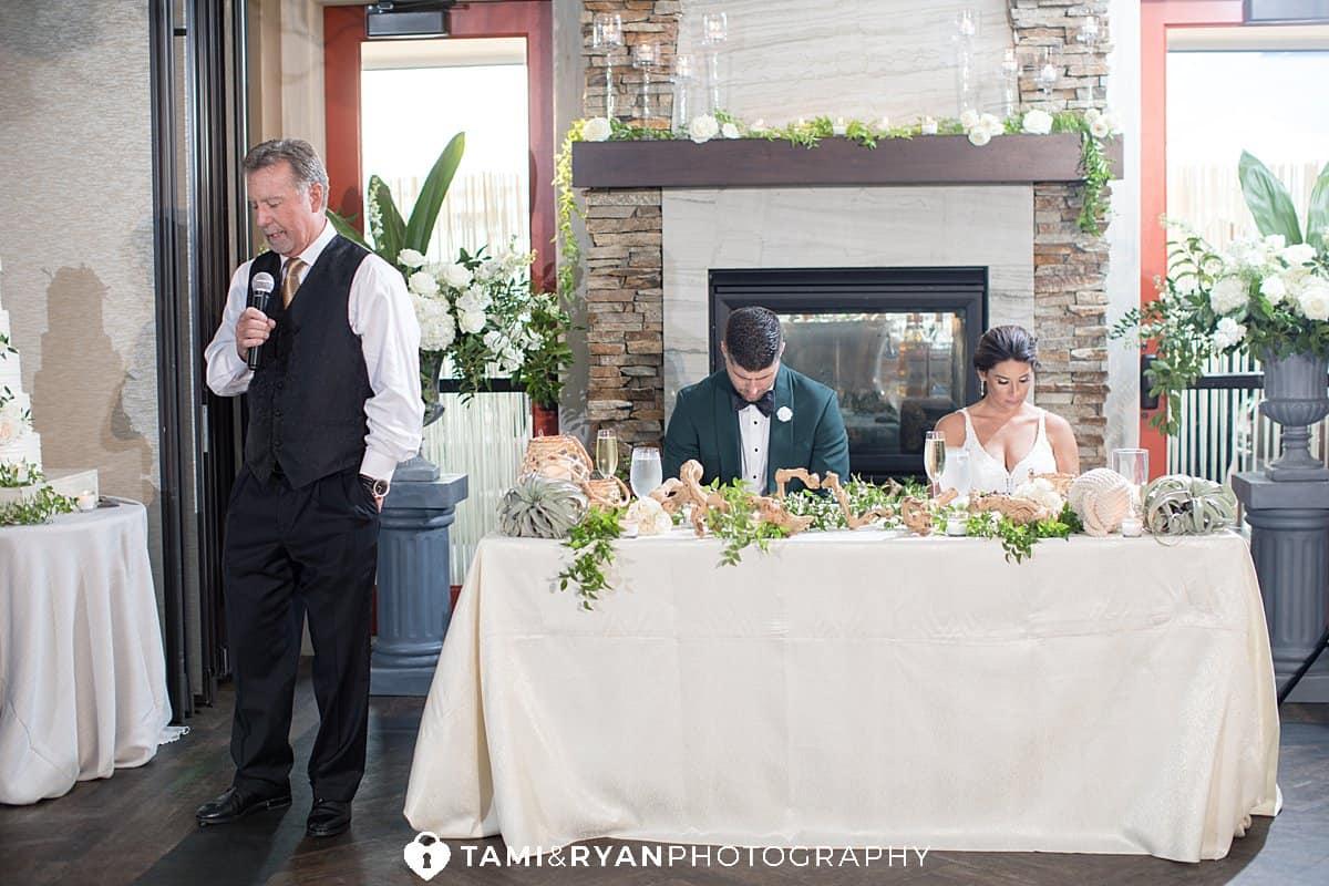 reeds shelter haven wedding reception