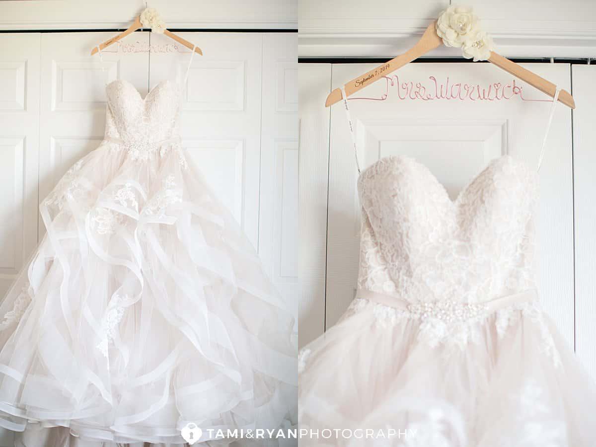 bride wedding details