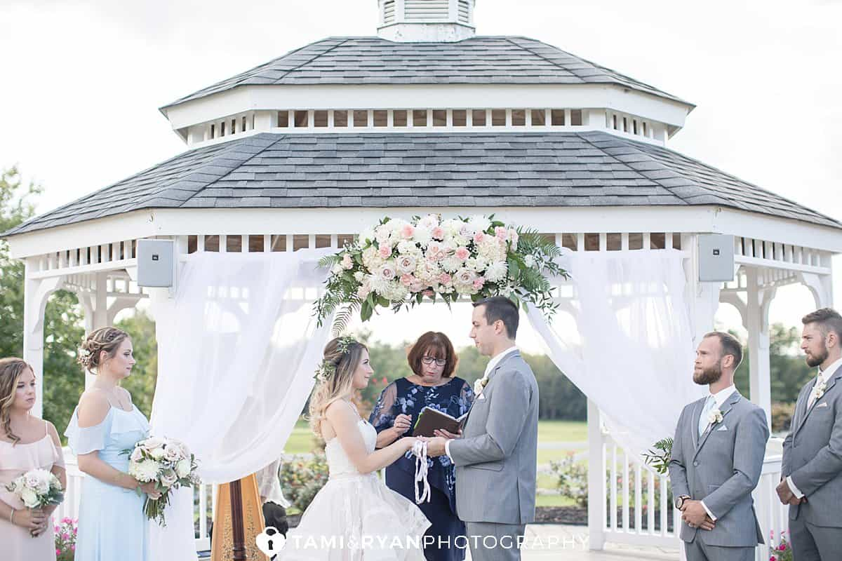 ceremony at sweet water country club
