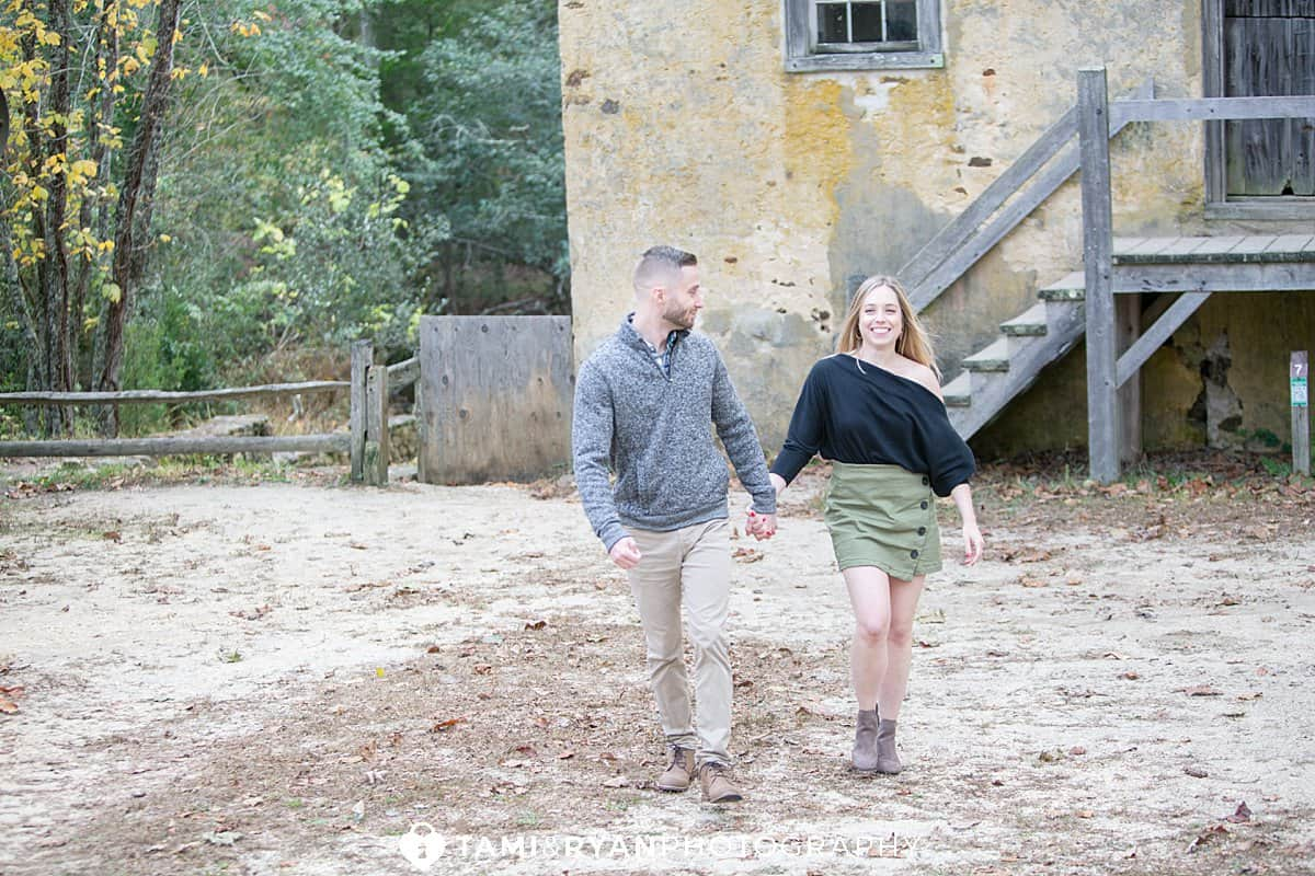 batsto village engagement photography
