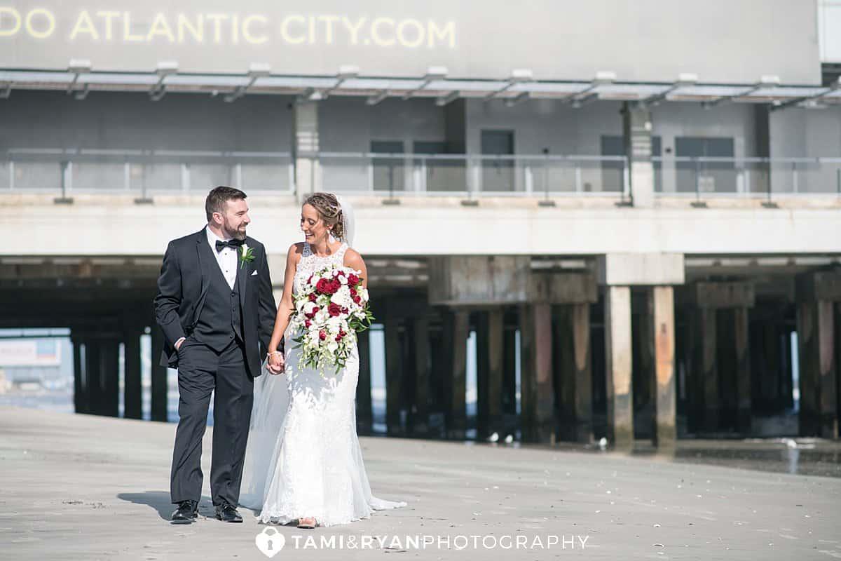 bride groom beach portraits