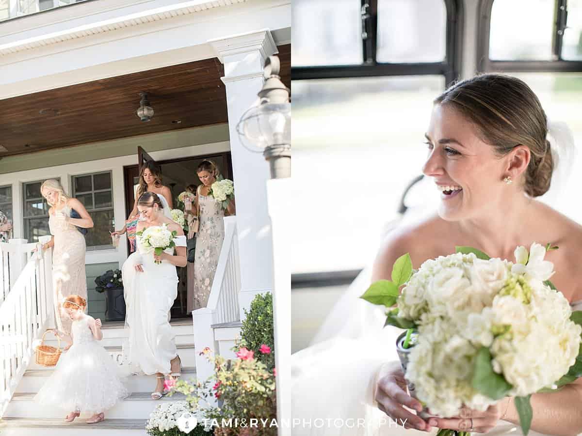 bride travel to ceremony
