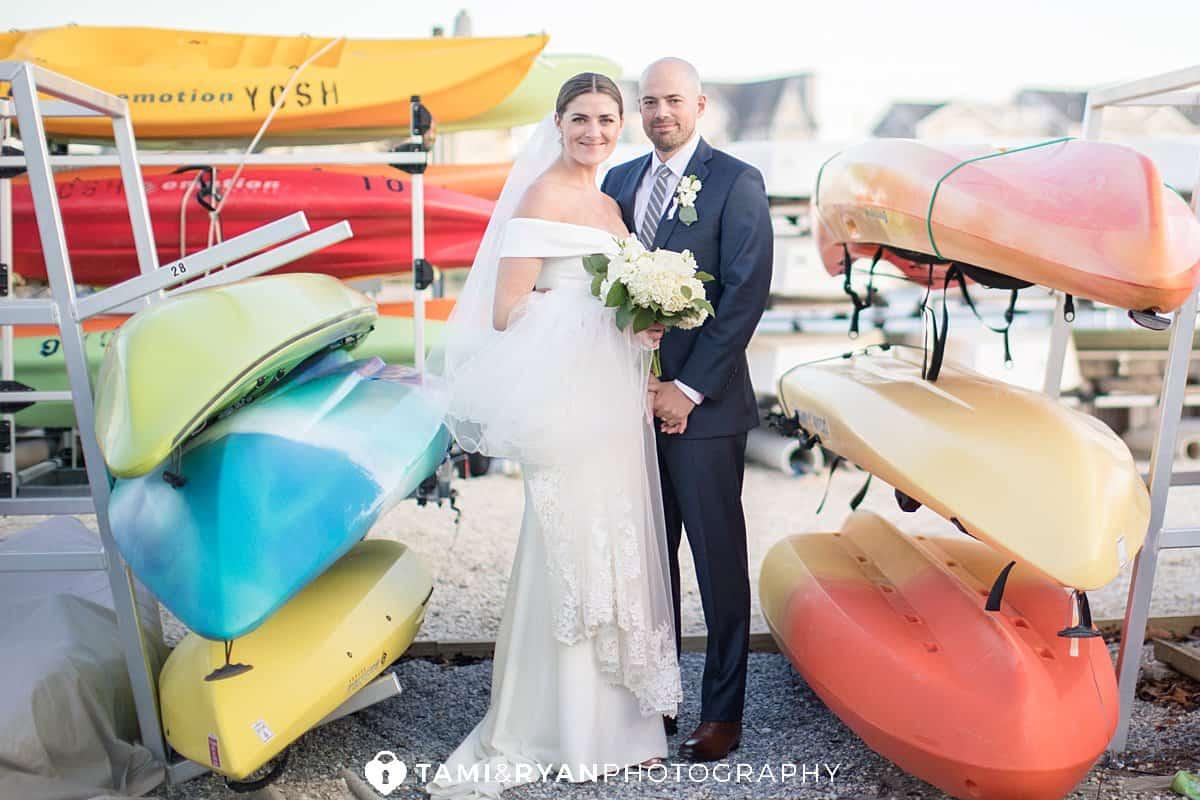 bride groom portraits stone harbor