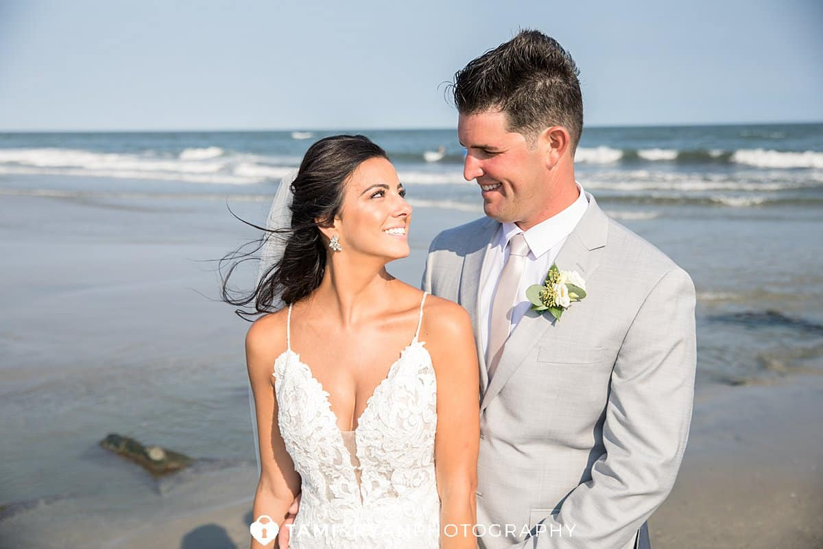 bride groom sea isle city beach