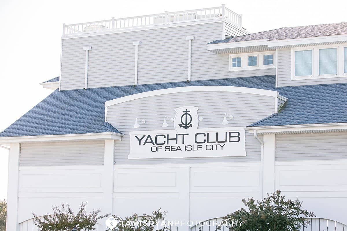 yacht club sea isle city