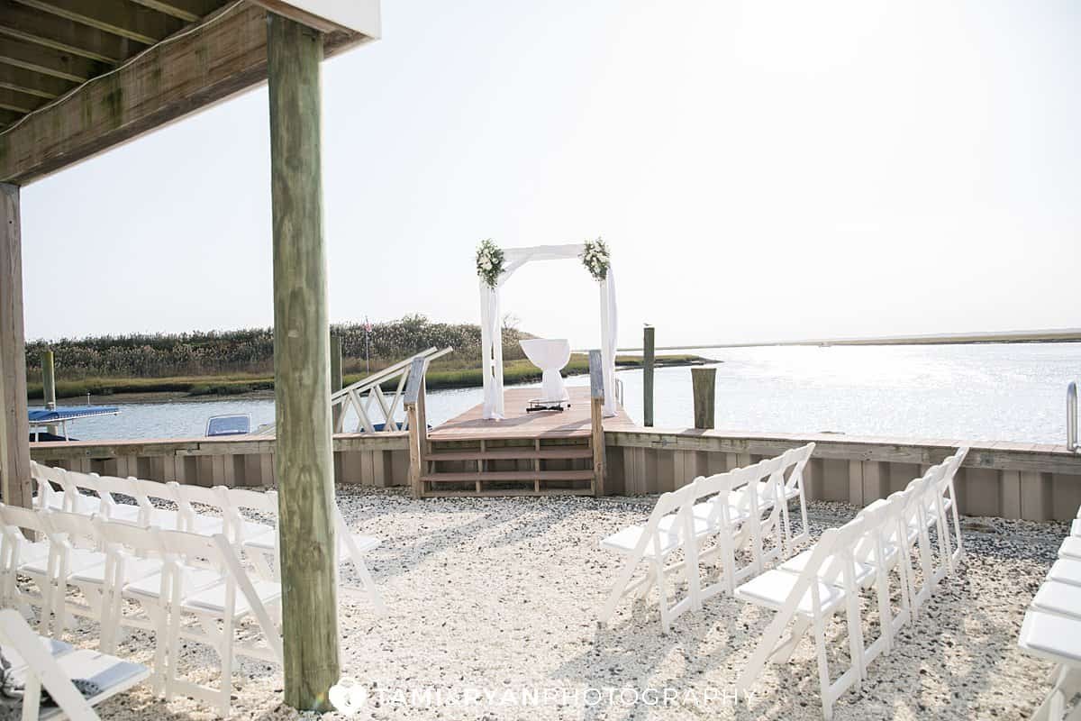 sea isle city wedding ceremony