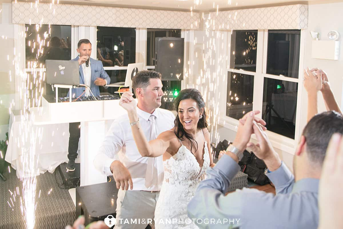yacht club sea isle city wedding reception