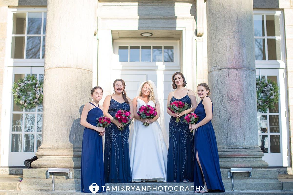 bride bridesmaids ellis preserve