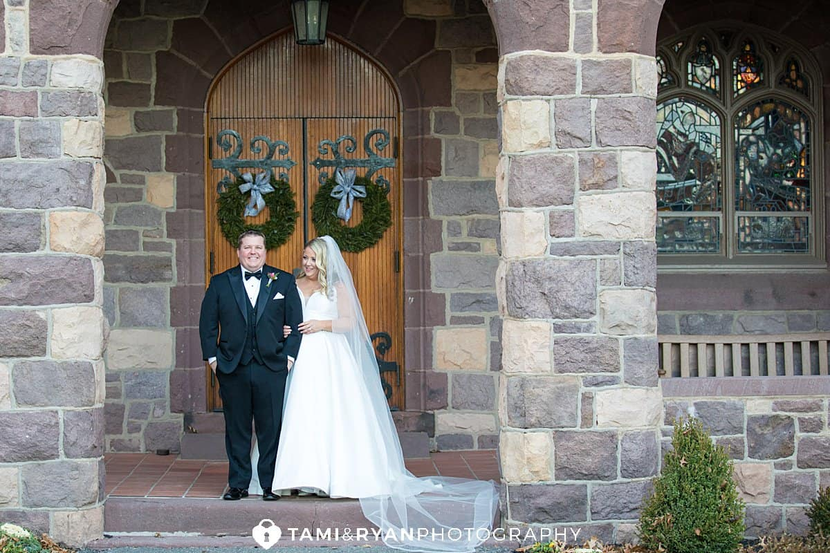 bride groom wedding portraits chapel hill school