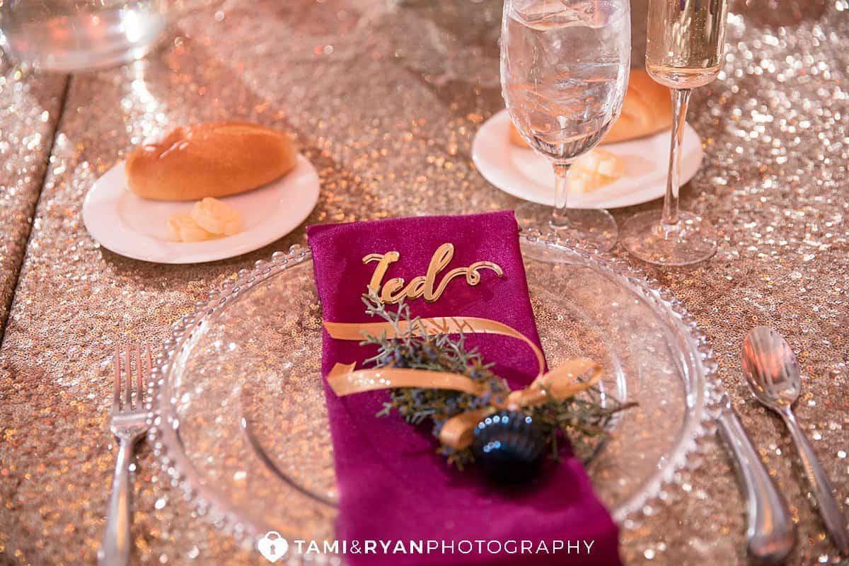 ballroom ellis preserve wedding details elegant