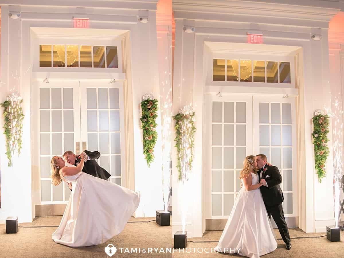 bride groom sparklers ellis preserve