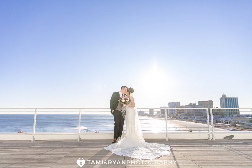 bride groom portraits atlantic city
