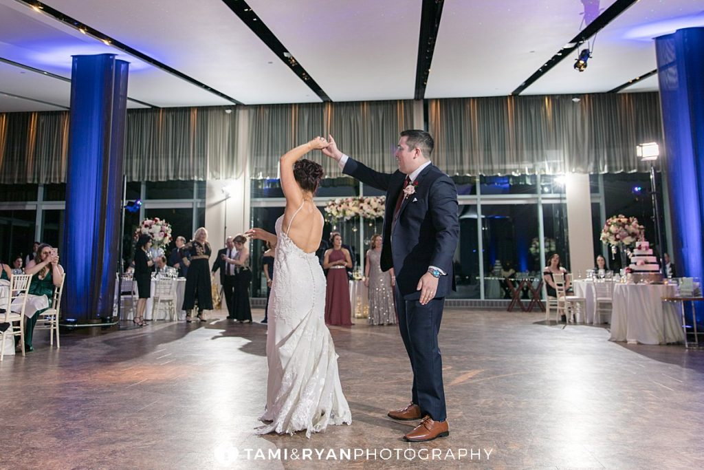 one atlantic wedding reception