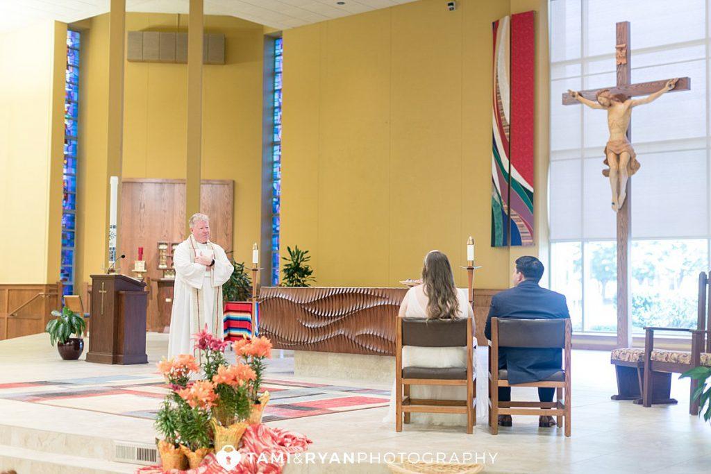 elopement wedding church