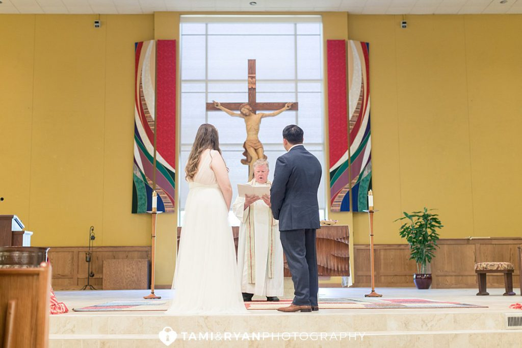 elopement wedding church