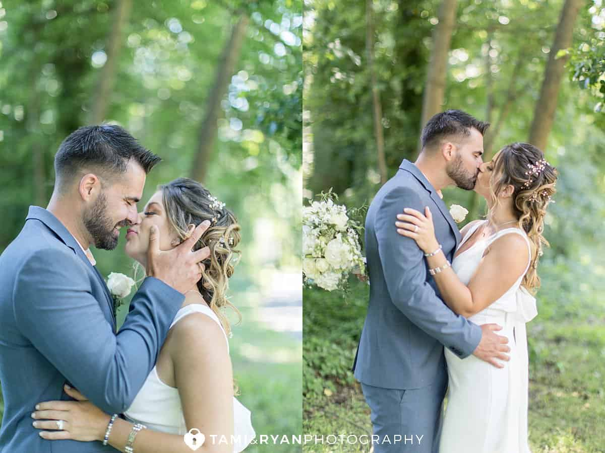bride groom portraits haddon lake park