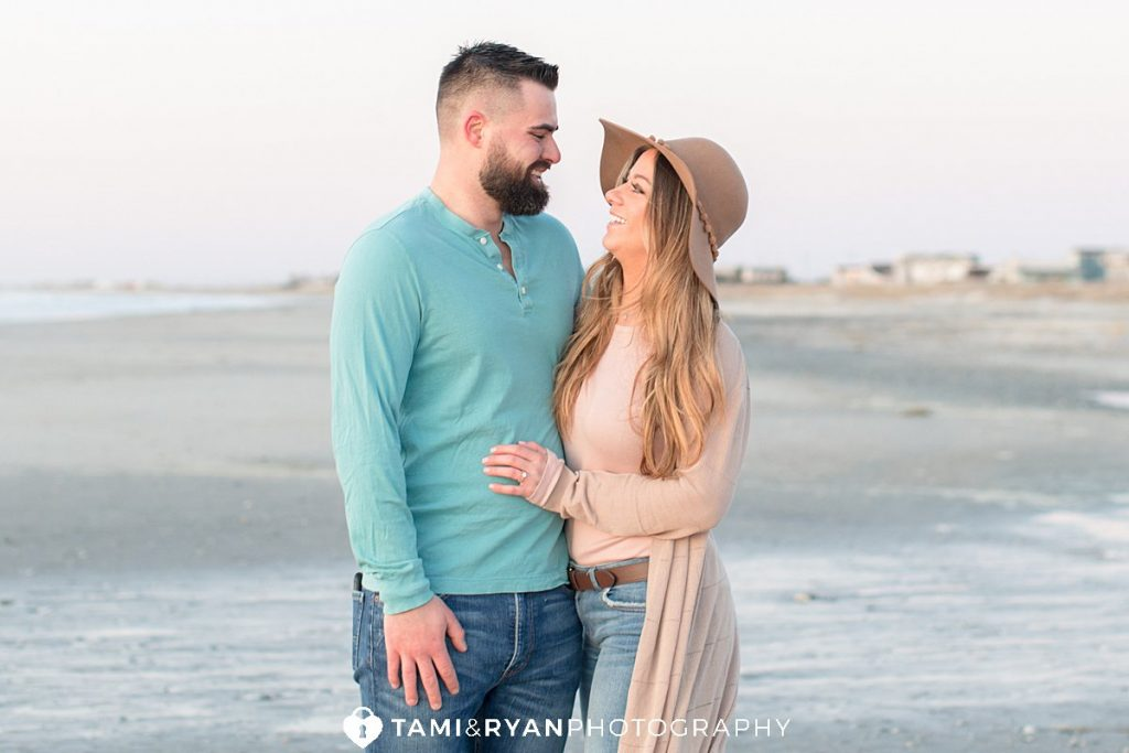 sea isle city engagement photography