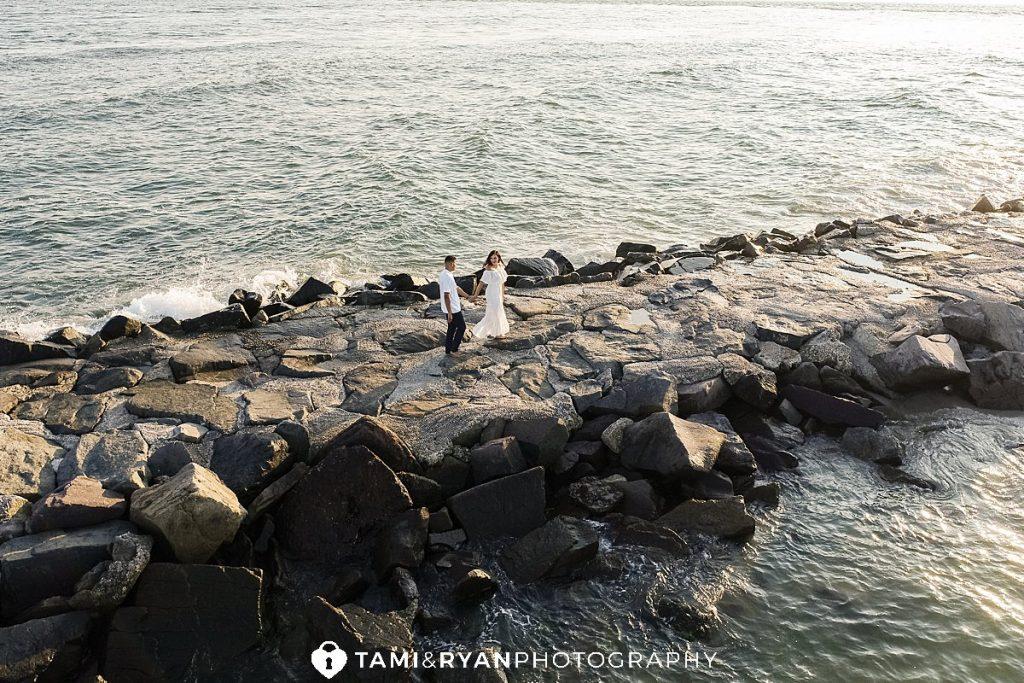 longport engagement photography