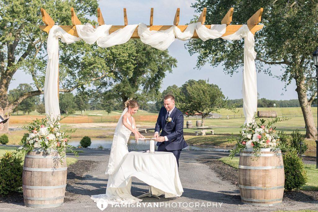 renault winery ceremony