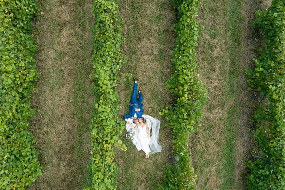 renault winery bride groom wedding