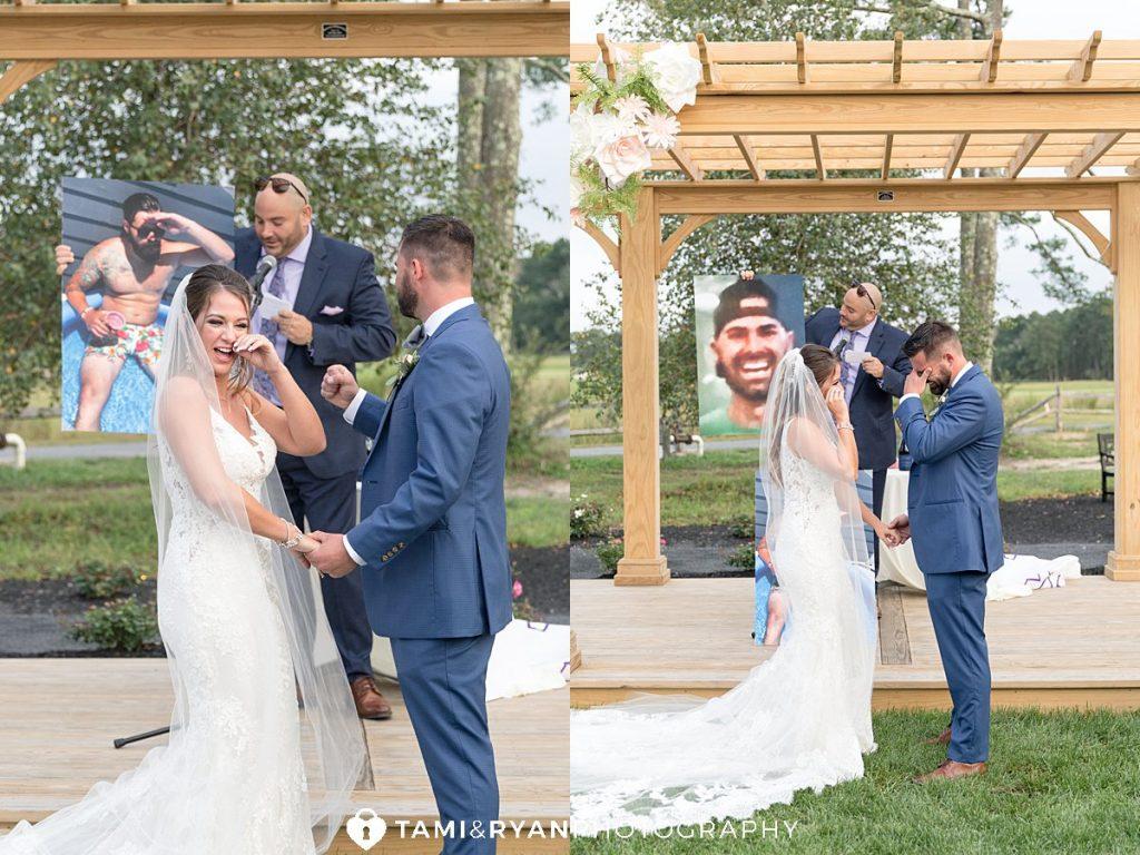 renault winery wedding ceremony